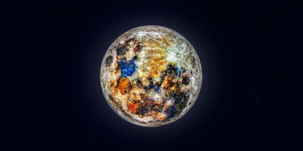 150 Bin Kareden Oluşan Ay