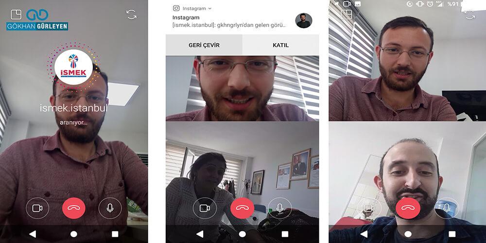 Instagram'a Görüntülü Konuşma Başladı