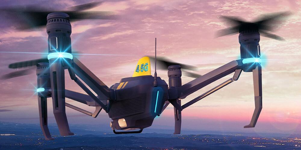 Uçan Baz İstasyonu: Dronecell